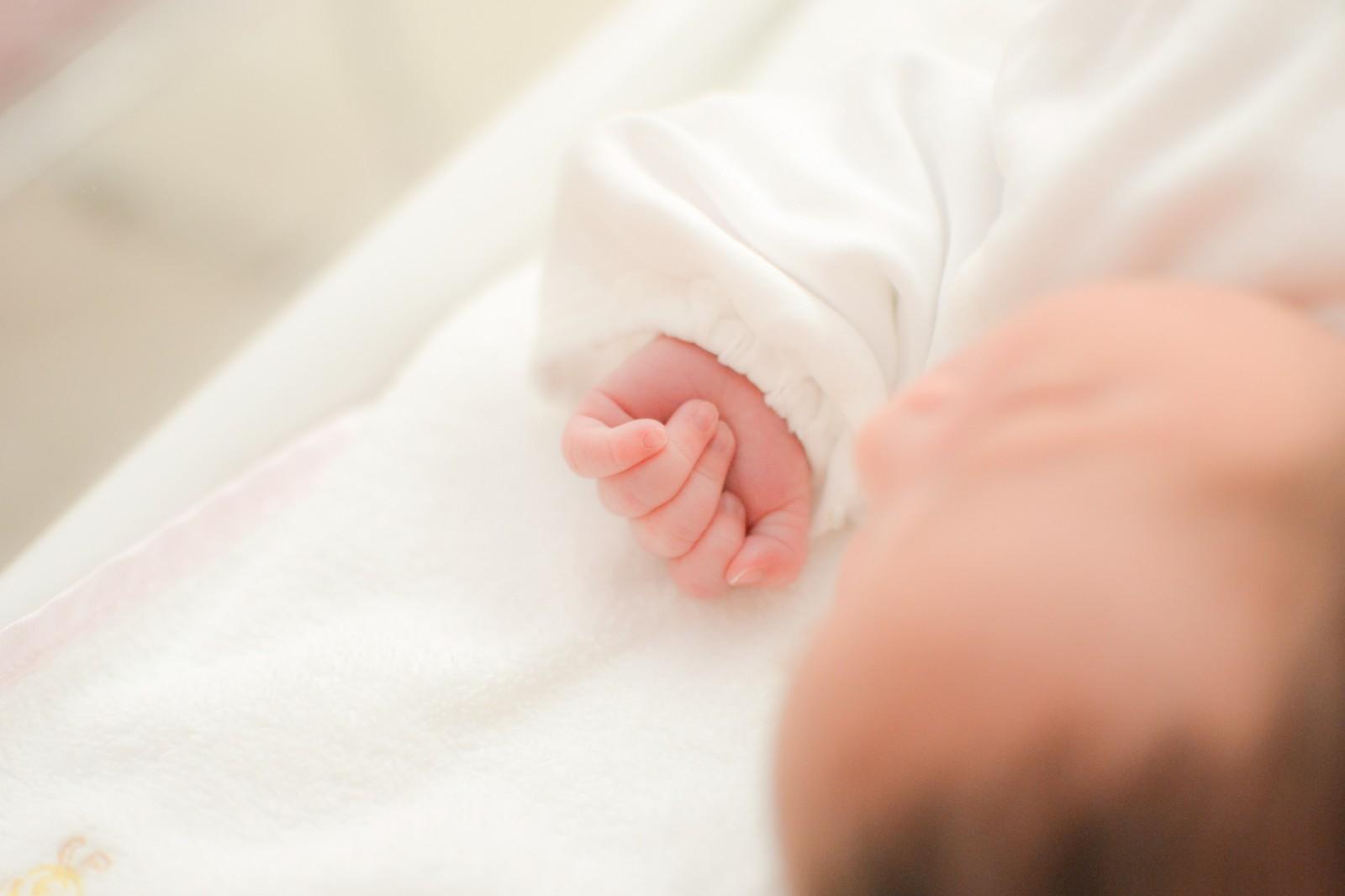 【生後1ヵ月】赤ちゃんの成長と特徴